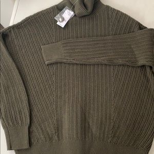Lord & Taylor Knit Turtleneck Sweater